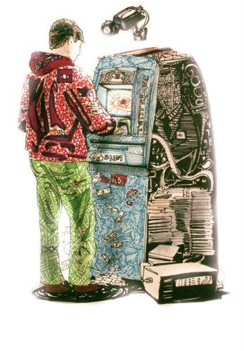 Ilustración: Tecnológica. Por Santiago Ayerbe